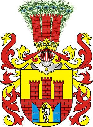 Marcin Kazanowski - Grzymała Coat of Arms