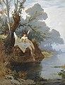 Hermann Corrodi - Con la riva del fiume.jpg