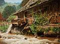 Hermann Dischler Wassermühle im Schwarzwald 1891.jpg