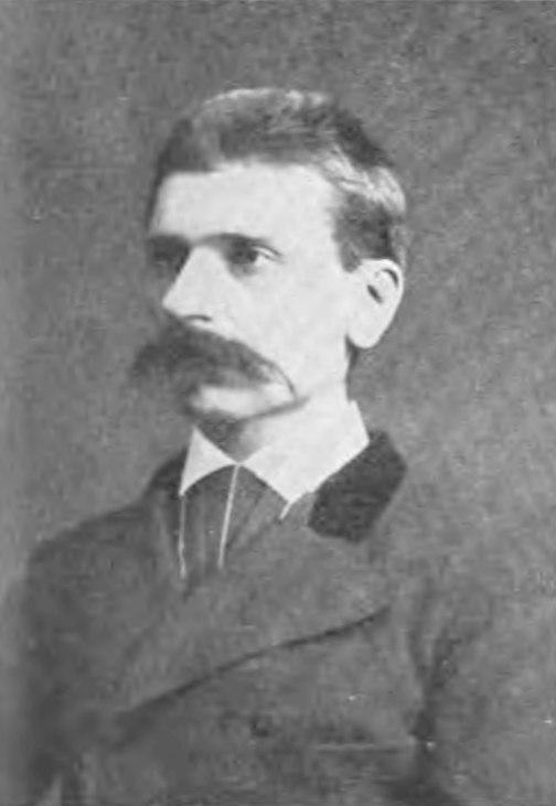 Herr von Kállay (Minister of Finance, Austria Hungary) 1899 Ede Ellinger