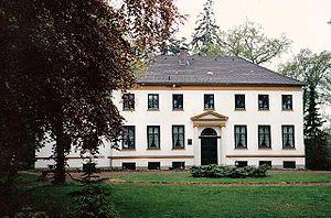 Krummbek Manor - Front elevation (c1993)