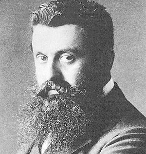 Rise of nationalism in Europe - Theodor Herzl.