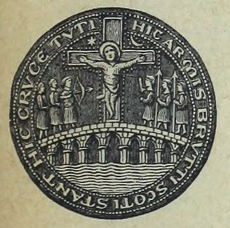 Stirling - The Bridge Seal: Hic Armis Brutti Scoti Stant Hic Cruce Tuti