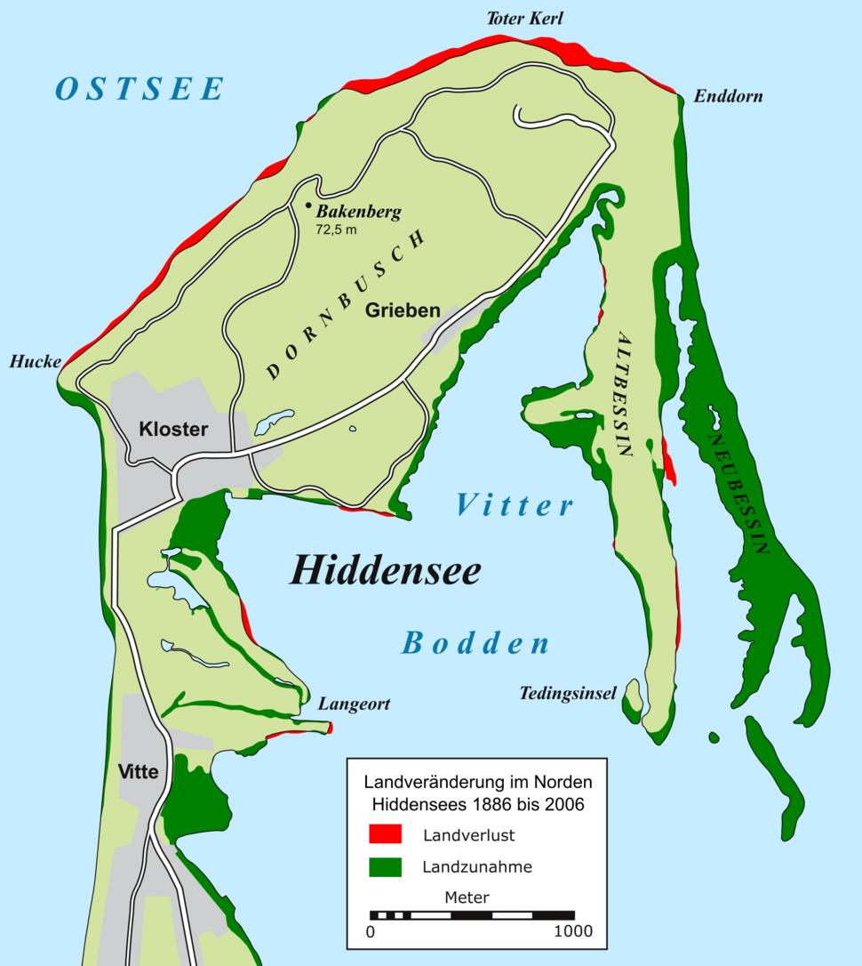 Hiddensee 1886 bis 2006