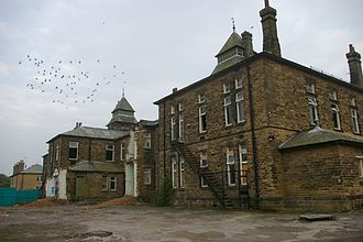 High Royds Hospital - High Royds Hospital, in 2006