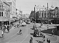 High angle view of busy Christchurch street (AM 80792-1).jpg