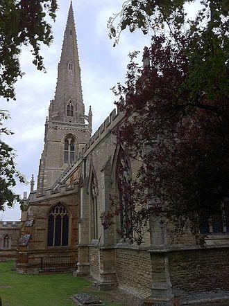 St Mary's Church, Higham Ferrers - Image: Higham Ferrers