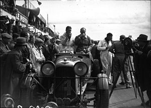 1935 24 Hours of Le Mans - Winners Johnny Hindmarsh and Luis Fontés