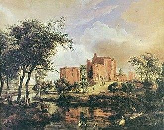 Brederode Castle - Image: Hobbema 03