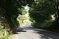 Holbeton, the road to Modbury - geograph.org.uk - 1490408.jpg