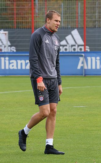 Holger Badstuber - Badstuber training with Bayern Munich in 2016