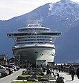 Holland America Lines Cruise Ship.JPG