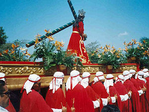 Culture of Honduras - Holy Week in Honduras.
