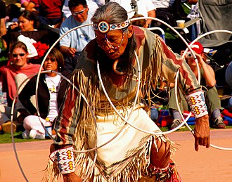 Heard Museum - Participant in the 2005 World Championship Hoop Dance Contest.