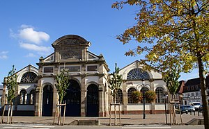 Haguenau - Hops hall, Hagenau