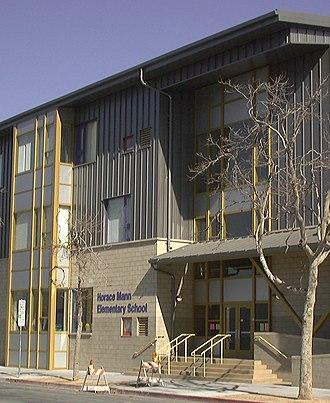 San Jose Unified School District - Horace Mann Elementary School in downtown San Jose