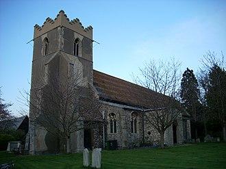 Horningsea - Image: Horningsea church St Peter