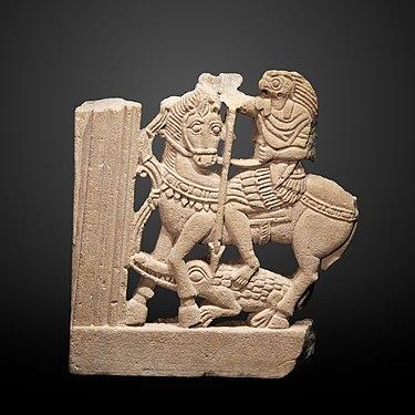 St Russia 2004 M George on horseback slaying dragon 10 Kopeks Coin