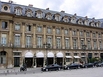 Hotel - Hôtel Ritz Paris in France