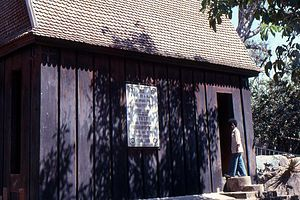 Andrianampoinimerina - Andrianampoinimerina's house at Ambohimanga