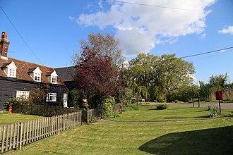 Tawney Common - Image: Houses at Tawney Common, Stapleford Tawney, Essex, England
