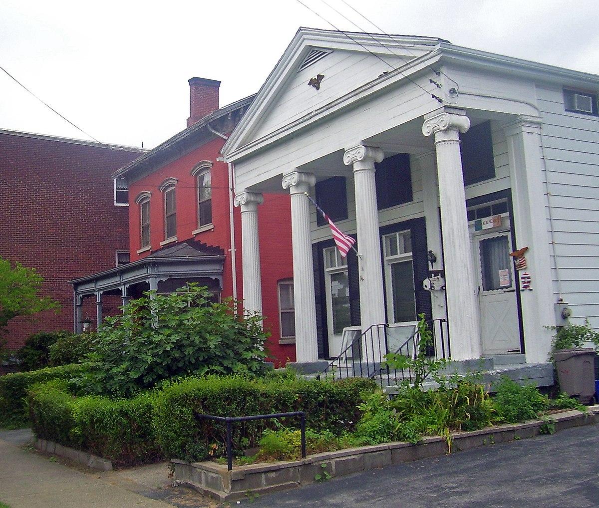 Mill Street–North Clover Street Historic District