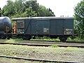 Hronov, nákladní vlak, služební vůz.jpg