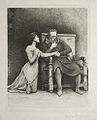 Hubert von Herkomer 1889 - John the Smith and his Daughter ('An Idyl').jpg
