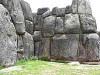 Huge stones in the walls of Saksayuaman fortress.jpg