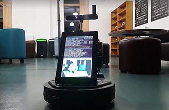 Hugh (robot) - Hugh prototype