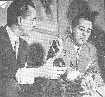 Hugo del Carril y Walter Ciocca