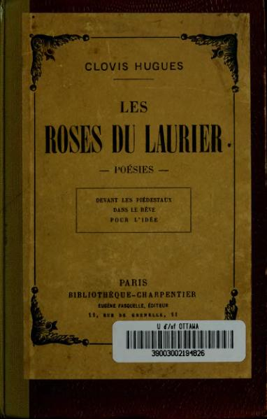 File:Hugues - Les Roses du laurier, 1903.djvu