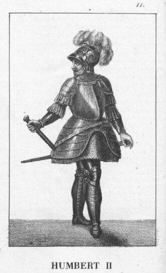 Humbert II, Count of Savoy - Image: Humbert II of Savoy