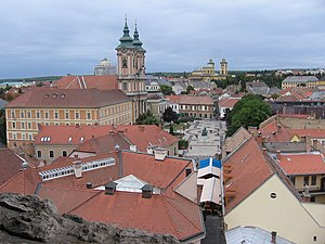 Heves County - Image: Hungria Eger desde la fortaleza panoramio (2)