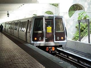 Washington Metro rapid transit line