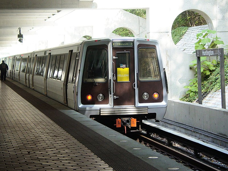 схема метро Вашингтона. 5