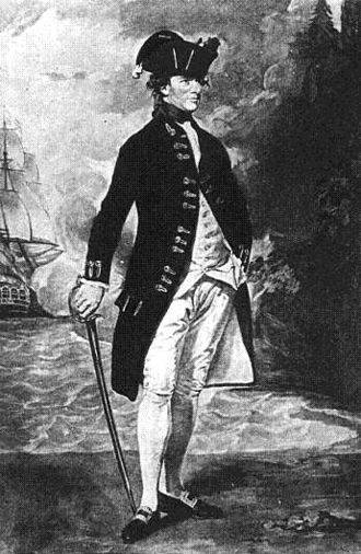 Hyde Parker (Royal Navy officer, born 1739) - Admiral Sir Hyde Parker (1739–1807) after the painting by Romney