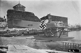 Latvian Air Force - Latvian IVL A.22 Hansa.