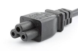 IEC 60320 Set of standards for AC power connectors used on domestic appliances on the appliance side
