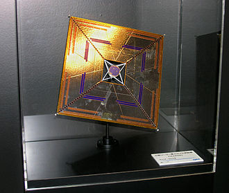 Solar sail - The model of IKAROS at the 61st International Astronautical Congress in 2010