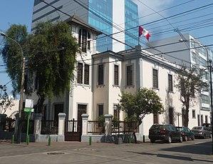 Raúl Porras Barrenechea Institute - Image: IRPB UNMSM P1440453