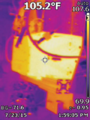 IR imagery of RF amplifier and heat sink.png