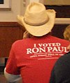 I Voted Ron Paul in the Iowa Straw Poll In Ames (6189781770).jpg
