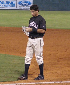 Ian Kinsler - Kinsler with the Oklahoma RedHawks in September 2005