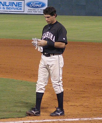 Oklahoma City Dodgers - Ian Kinsler with the Redhawks in 2005