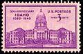 Idaho statehood 1940 U.S. stamp.1.jpg