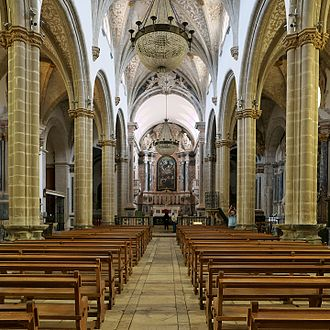 Our Lady of the Assumption Cathedral, Elvas - Internal view
