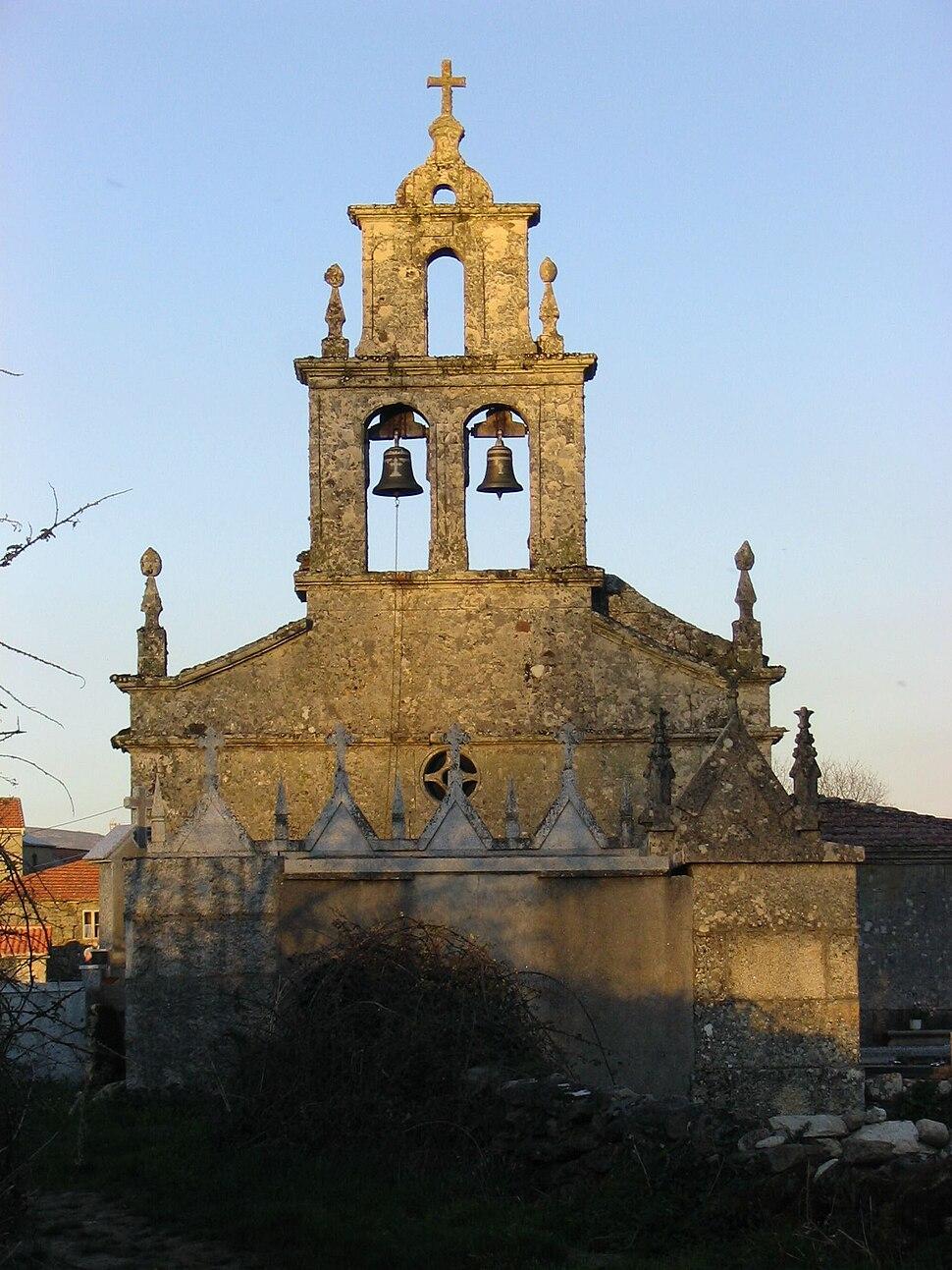 Igrexa en Laza
