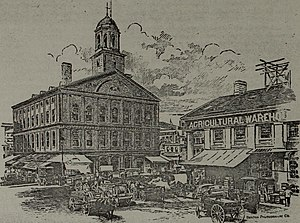 Gridley J. F. Bryant - Bryant's first work as designer and architect was the Broadway Savings Bank in South Boston built in 1833.