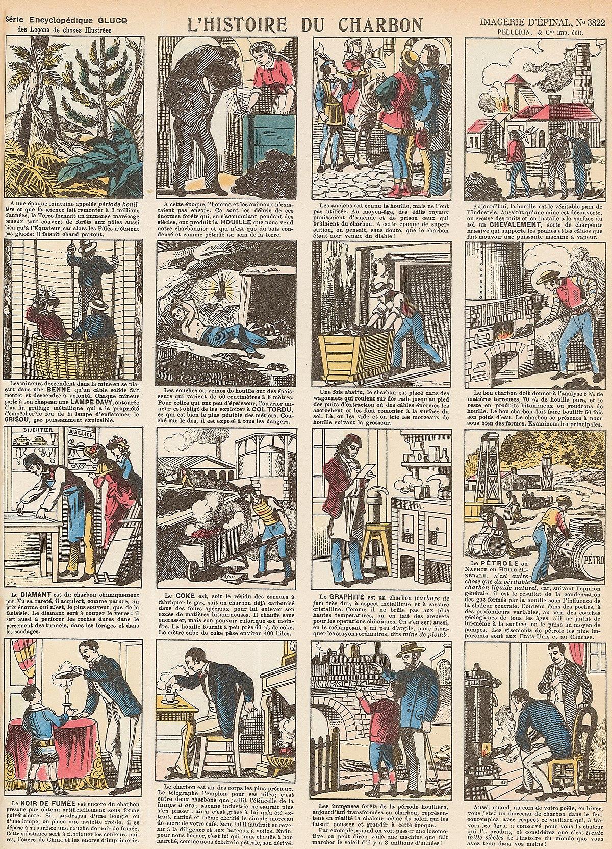 Fileimagerie Dépinal N3822 Lhistoire Du Charbonjpg